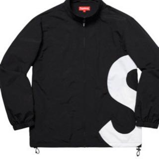 シュプリーム  sロゴジャケット ブラック