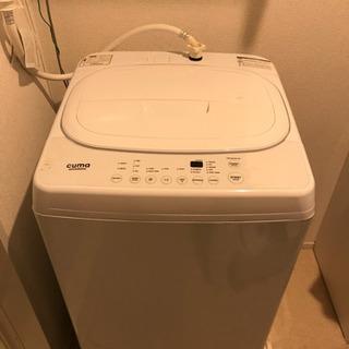 cuma amadana 5.5kg 洗濯機 11月16日まで 値下げ