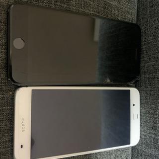 iPhone7plusとAQUOS506SH