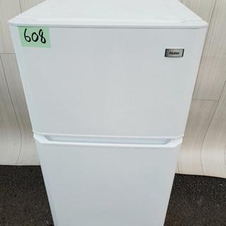 608番 Haier✨冷凍冷蔵庫❄️JR-N106H‼️