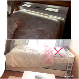 シングルベッド シーツ付♪