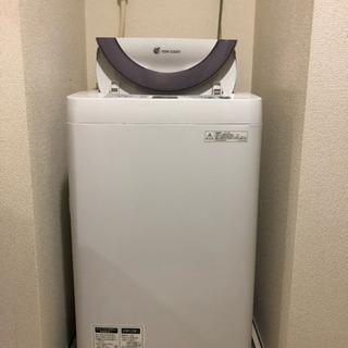 洗濯機 ¥3,000 〈SHARP 5.5kg〉