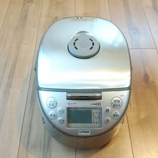 タイガー電気炊飯器(中古品:一部動作不能、一部欠損あり)を売りま...