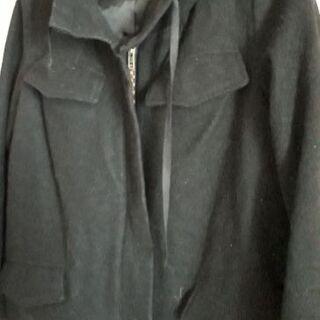 ローリーズファーム 黒コート