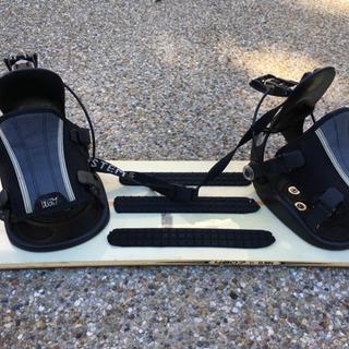 スノーボード 板&ビンディングセット パウダーボード