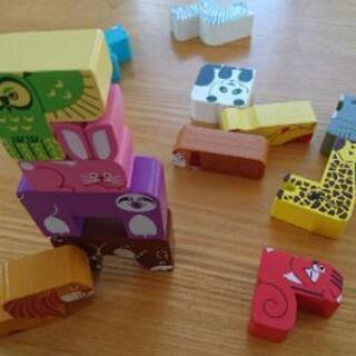 知育 玩具 つみき Benesse 木製 アニマル