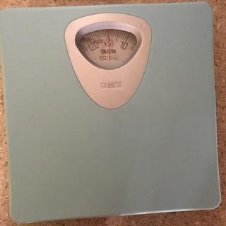 タニタ アナログ体重計