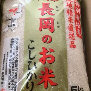 令和1年産新潟越後さんとう農協特別栽培米長岡のお米コシヒカリ