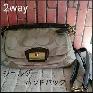 【COACH】2way ショルダーバッグ  ハンドバッグ