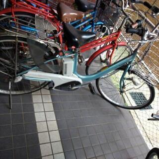 現状渡しpanasonic電動自転車26インチ ライトブルーメタリック