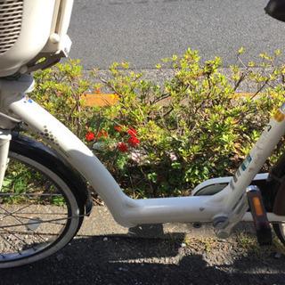 最終値下げ*アンジェリーノ ホワイト 非電動自転車 後ろ子乗せなし