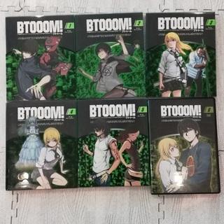 中古■BTOOOM! Blu-ray1~5  6のみDVD セット