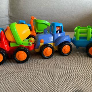 ミニカー  4台セット +トーマスのおもちゃ +HUMMER の...