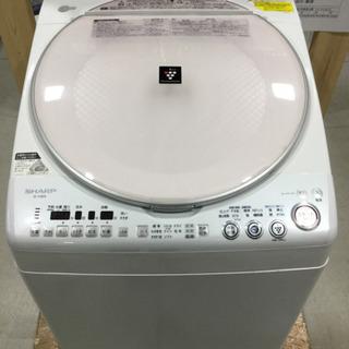 SHARP 8.0kg 電気洗濯乾燥機 ES-TX800-P 2...