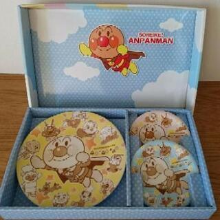 【新品・未使用】アンパンマン パーティー 皿3枚セット 子ども用