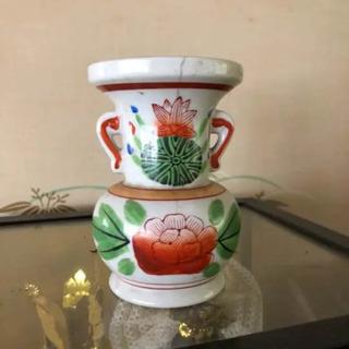 壺 花瓶 オレンジ