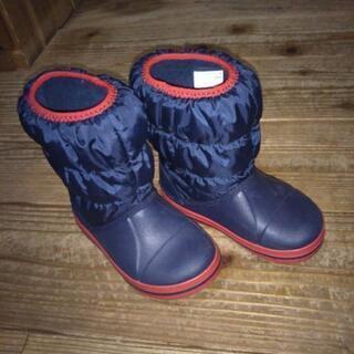 crocs子供冬靴、美品