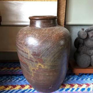 壺 茶色 花瓶