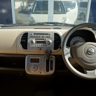 日産 モコ 2WD G エアロスタイル パール