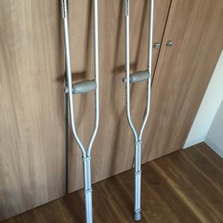 松葉杖2本
