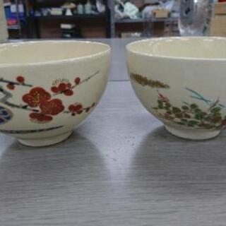 加藤昌山 京焼 茶碗 2点 まとめて 茶道具 抹茶茶碗
