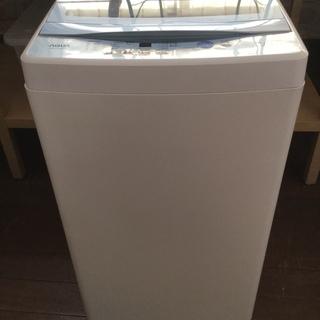 AQUA  5k全自動洗濯機 AQW-GS50F 美品