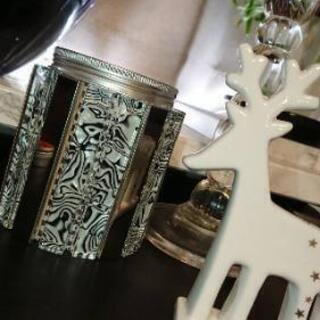 ZARAHOME Francfranc好きな方 ガラスのキラキラの瓶