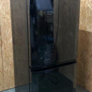 三菱 MR-P15Z-B 2016年製 ブラック 冷蔵庫