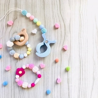 JEWEL TEETHER♡歯固めorシューズクリップ work...