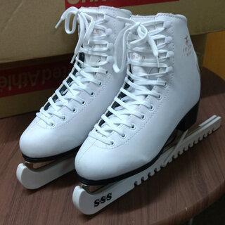 フィギアスケート靴 女性初心者用 SSSスケート 24cm