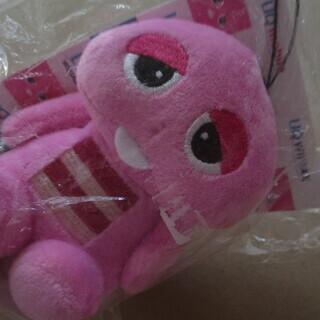 【最終値下げ 処分品】 未使用 非売品 ピンクのガチャピン ぬい...