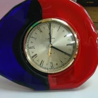 当時もの MIZETRON ミゼトロン クオーツ 置時計 掛け時...