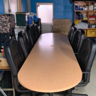 会議用テーブル・椅子セット