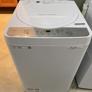 洗濯機 シャープ SHARP ES-GE5C 2019年製 5....