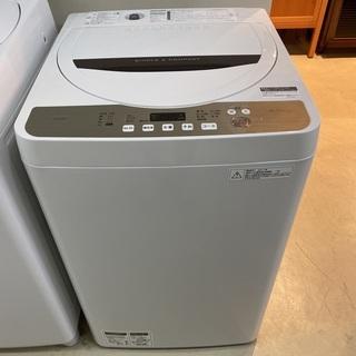 洗濯機 シャープ SHARP ES-GE4B 2017年製…
