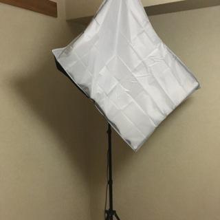 27日まで!美品☆撮影用照明セット 【4灯ソケット】