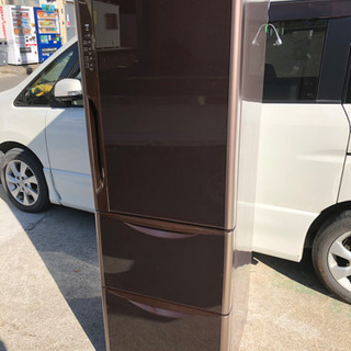 ◉2014年製日立3ドア冷凍冷蔵庫365L 真空チルド