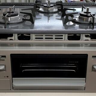 リンナイ システムキッチン用 都市ガス用ビルトインコンロ …