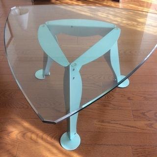イタリア製 ガラステーブル