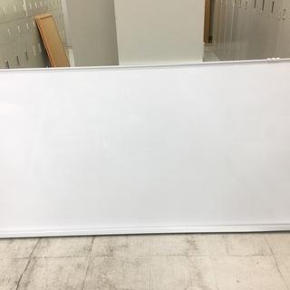 中古 ホワイトボード 壁掛け 無地 900×1800