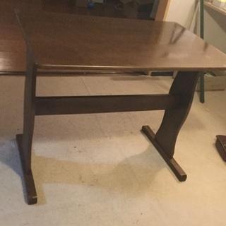 テーブル&ベンチ2台セット