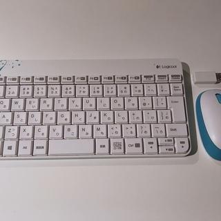 Logicool ワイアレスキーボードとマウスのセット