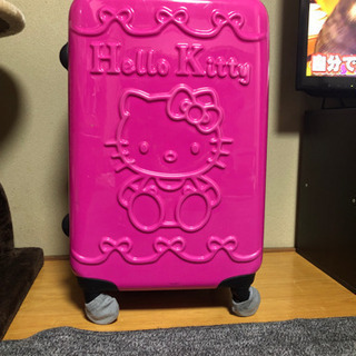 スーツケース ハローキティ ピンク