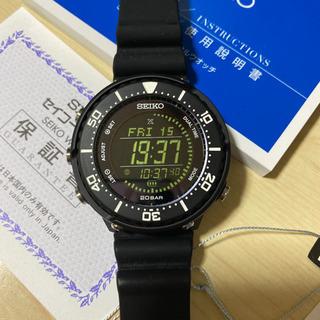 セイコー プロスペックス SBEP013 20気圧防水 ブラック