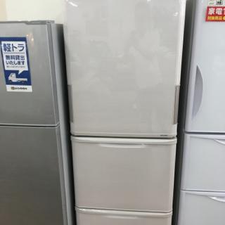 SHARP 両開き3ドア冷蔵庫 2015年製 SJ-PW35B-C