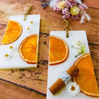 オレンジいっぱいのサシェ.+*