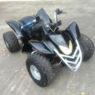 実働 四輪バギー ATV 三速 バック付き