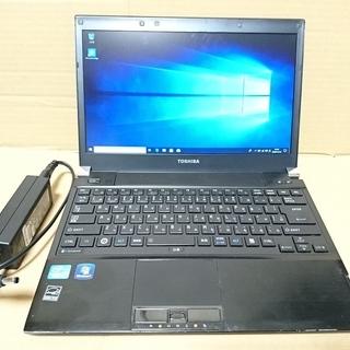 ★バッテリー良好!13型 薄型ノートDynabook R731 ...