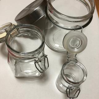 ☆色んな可愛い保存瓶☆3個まとめて