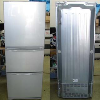 19N0111 D 札幌発 引取歓迎 TOSHIBA/東芝 GR-E34N ノンフロン冷凍冷蔵庫 340L 2012年製 中古の画像
